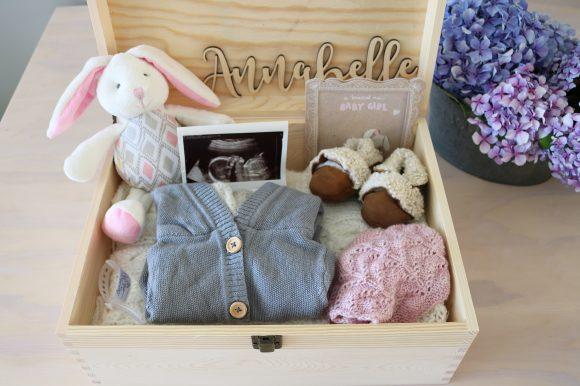 Baby Keepsake Box