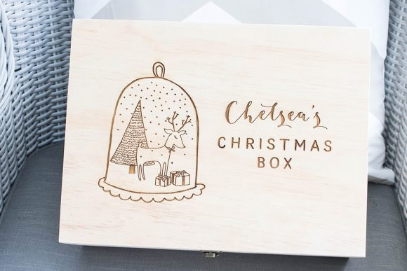 Personalised Christmas Box