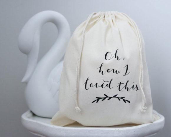 Keepsake Cotton Bag