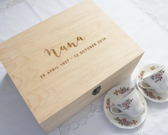 Remembrance Keepsake Box