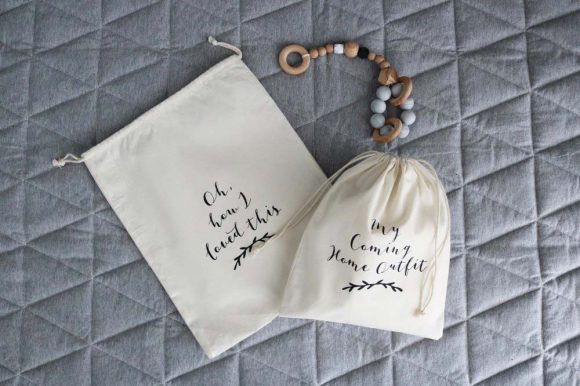 Cotton Keepsake Bags