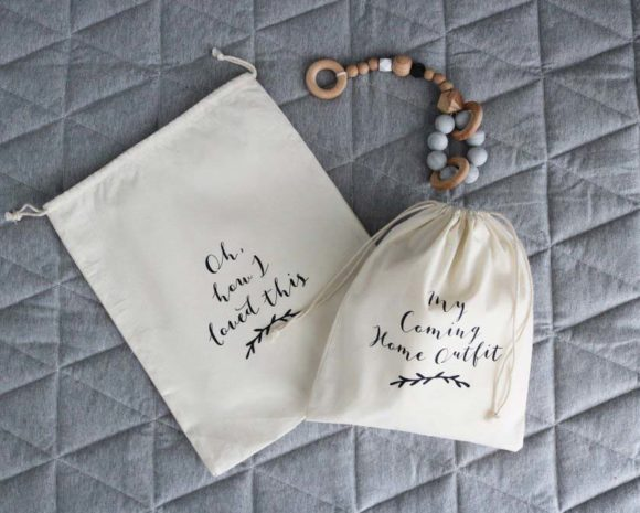 Cotton Keepsake Bags