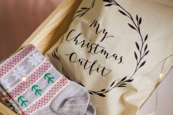 Christmas Outfit Bag