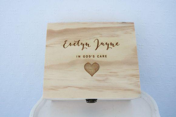 Remembrance Keepsake Box