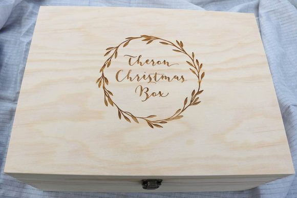 Personalised Christmas Keepsake Box