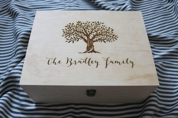 Family Tree Keepsake Box