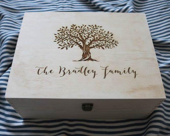Family Tree Keepsake Box