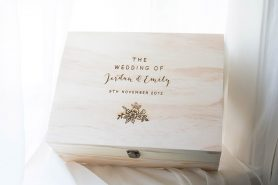 Keeps Personalised Wooden Keepsake Boxes Accompanying Items